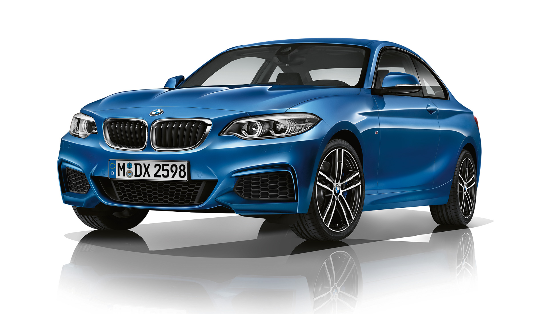 BMW 2 Series Coupé, Model M Sport three-quarter front shot