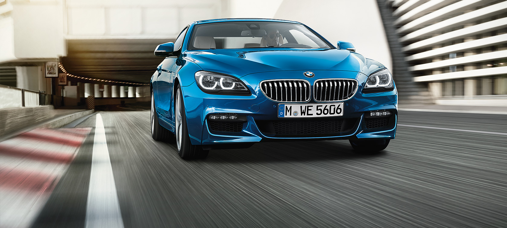 Equipment for the BMW 6 Series Coupé