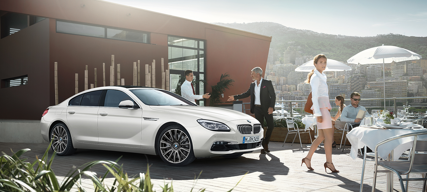 Comfort in the BMW 6 Series Gran Coupé