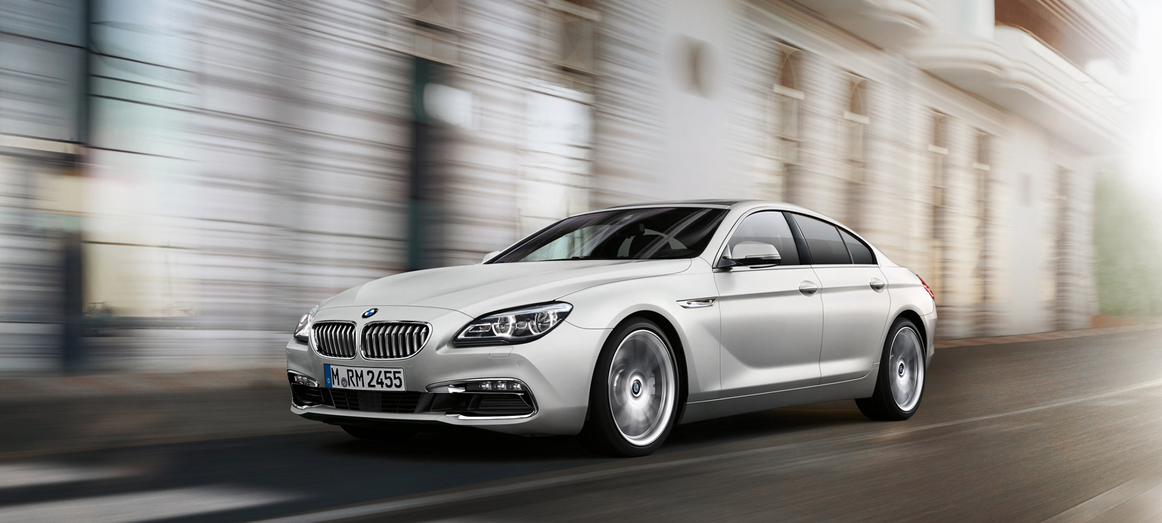 Driving dynamics & efficiency in the BMW 6 Series Gran Coupé