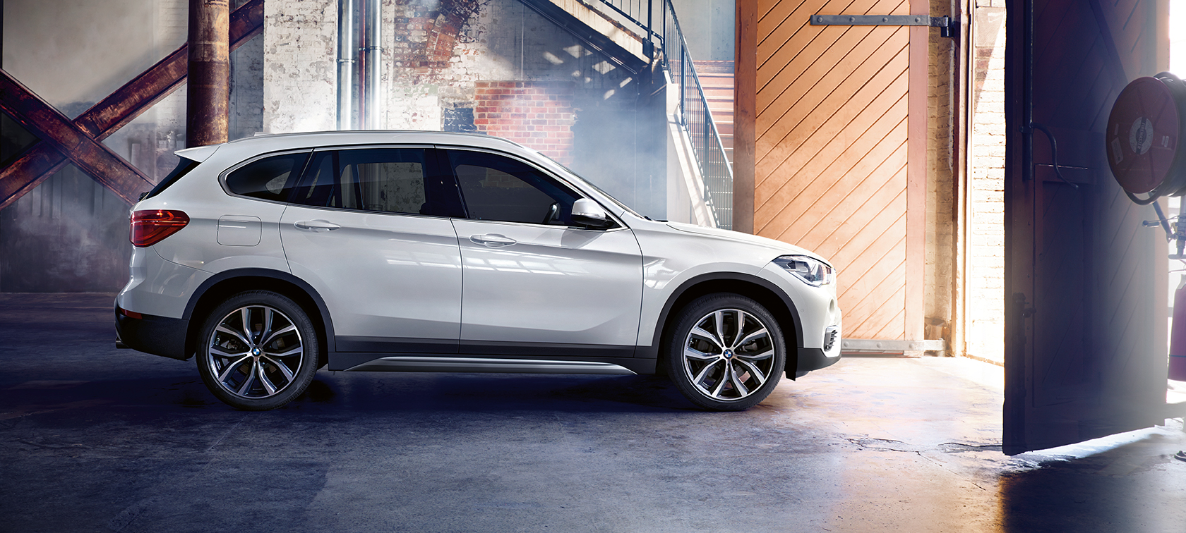 The appearance of the BMW X1